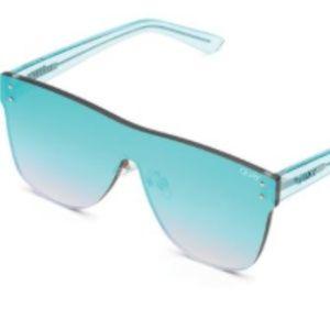 NWT Quay Australia Phantom Shield Sunglasses Blue